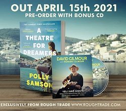 Polly Samson's A Theatre For Dreamers with 4-track David Gilmour CD