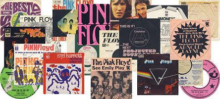 Pink Floyd singles spread