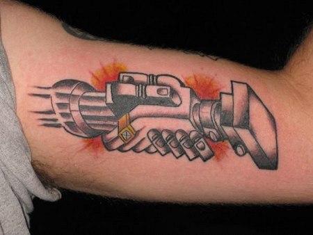 Derek G's Pink Floyd tattoo