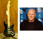 Musicians On Call - David Gilmour black Strat signed