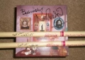 Nick Mason signed drumsticks and box set