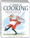 A Salute to Cooking - charity cookbook including Nick Mason