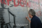 Roger Waters at Israeli seperation wall