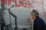 Roger Waters at Israeli seperation wall