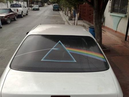 Cesar Waters' car