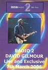 David Gilmour - On An Island live on BBC Radio 2