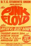 Pink Floyd 1969 poster
