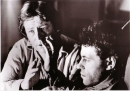 Alan Parker and Bob Geldof, on the set of Pink Floyd The Wall