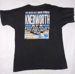 Knebworth 1990 shirt back
