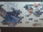 Signed copy of Pink Floyd The Wall - Gerald Scarfe