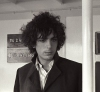 Syd on a cross-channel ferry in 1967 with Pink Floyd (© Pink Floyd Music Ltd.)