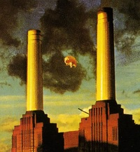 Pink Floyd Animals - cover detail