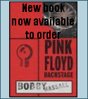 Pink Floyd: Backstage book