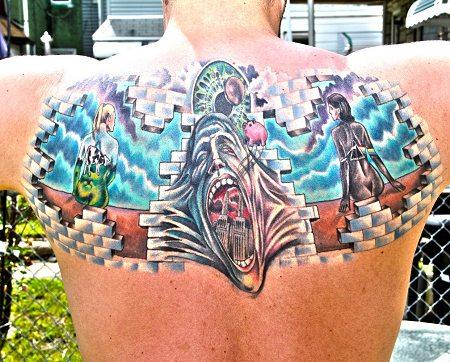 Ernie's tattoo