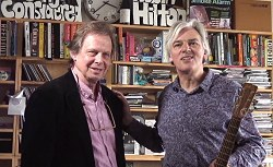 Joe Boyd and Robyn Hitchcock