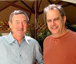 Nick Mason and Joe Benson