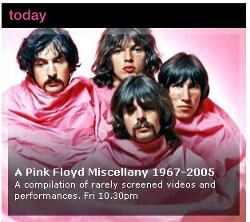 Pink Floyd on BBC4
