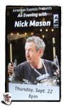 Nick Mason - Grammy Museum 22nd September 2011