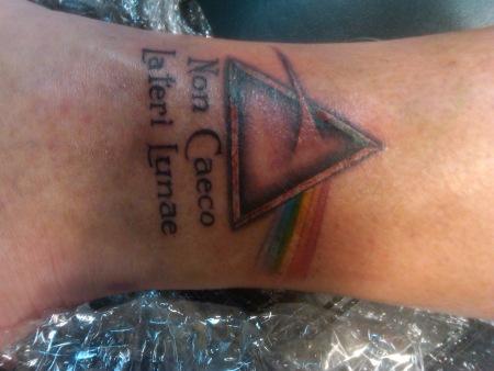 Elliot Harris - Pink Floyd tattoo