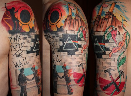 Luke Thompson tattoo