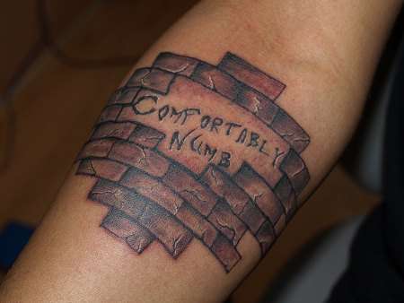 Manish's Pink Floyd inspired tattoo