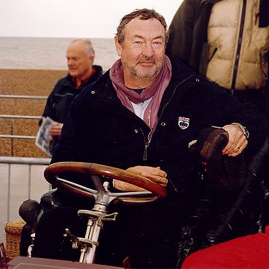 Nick Mason in Brighton - picture by Brain Damage