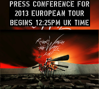 Roger Waters 2013 tour press conference