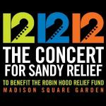 12-12-12 The Concert for Sandy Relief album cover