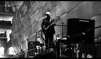David Gilmour behind The Wall - London's O2 Arena, May 2011