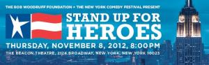 Stand Up For Heroes concert