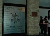 Wall Retrospective - London Blackall Studios (exterior)