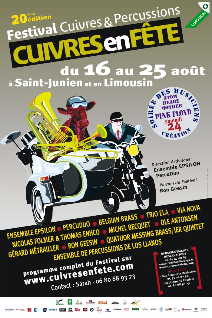 Сюита «Atom Heart Mother» будет исполнена на фестивале во Франции