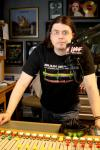 Matt Leonard - in the studio