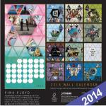 Official 2014 Pink Floyd calendar (rear)