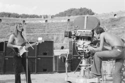 Pink Floyd Live at Pompeii filming (Photo: FNC)