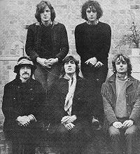 The shortlived, five-piece Pink Floyd line-up