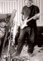 David Gilmour, recording The Division Bell on Astoria