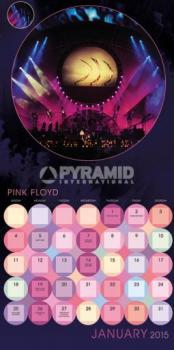 Pink Floyd 2015 Official Calendar