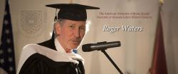 AUR awards Roger Waters honorary doctorate