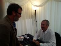 Nick Mason at Borders Book Festival 2014