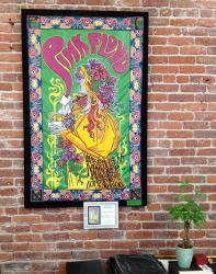 Jeff Hamilton's leather version of the 1966 Pink Floyd Marquee Club poster