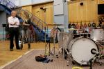 Kirsty Bertarelli and Nick Mason, Abbey Road Studios