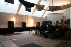 Princeton Pink Floyd conference 2014 - listening room