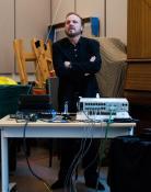 Princeton Pink Floyd conference 2014 - mixing desk