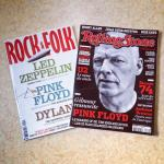 Pink Floyd featuring in Rock&Folk, and Rolling Stone - France, October 2014