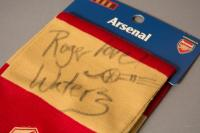 Roger Waters signed scarf for Cahonas Scotland auction