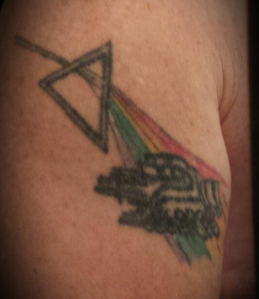 Otis Watts' 1994 tattoo