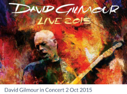 David Gilmour - London ticket auction