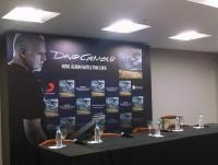 David Gilmour press conference in Sao Paulo, Brazil