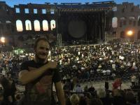 David Gilmour - Pula, Croatia, 12th September 2015